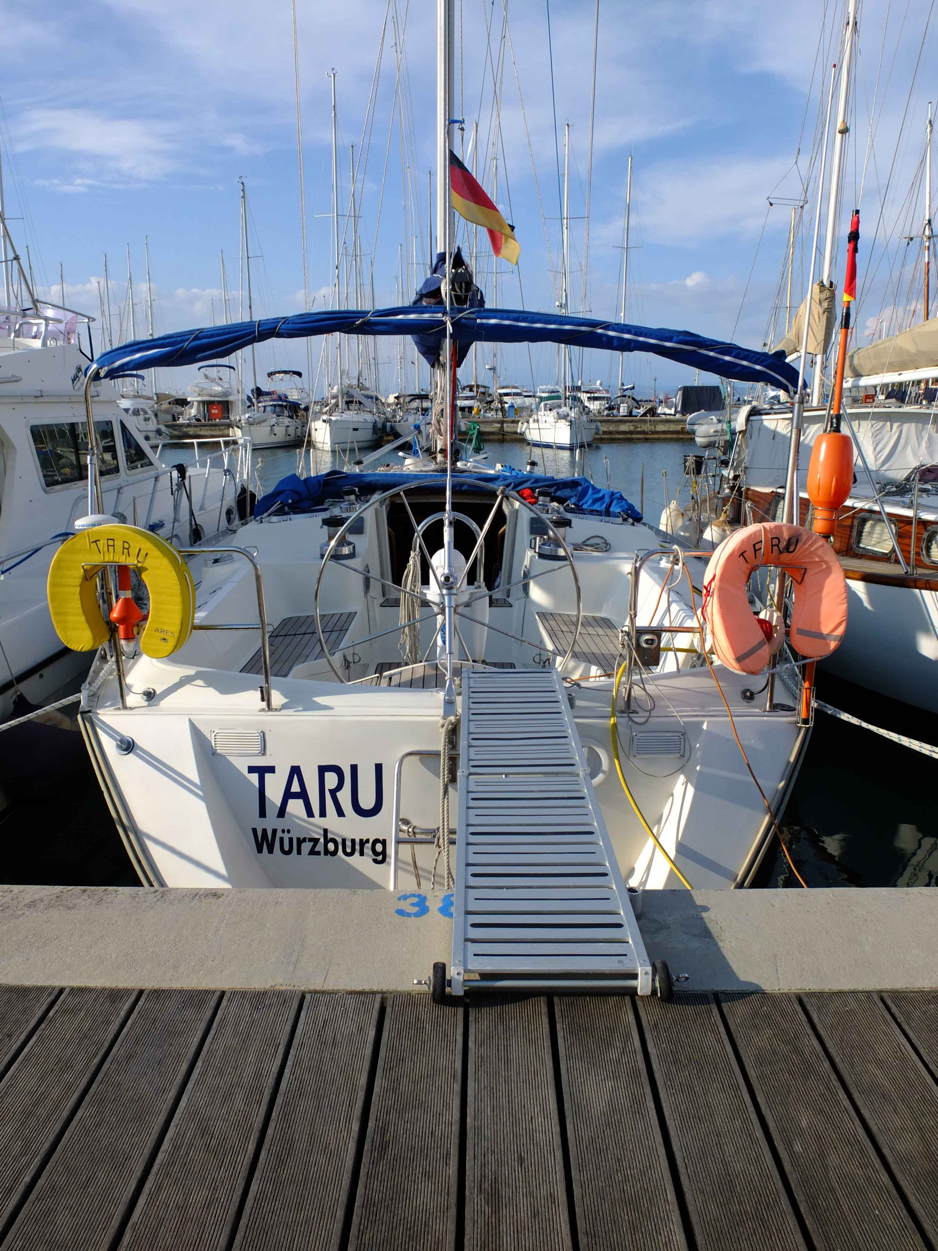 Ausbildungstörn Adria TARU-Segelsport