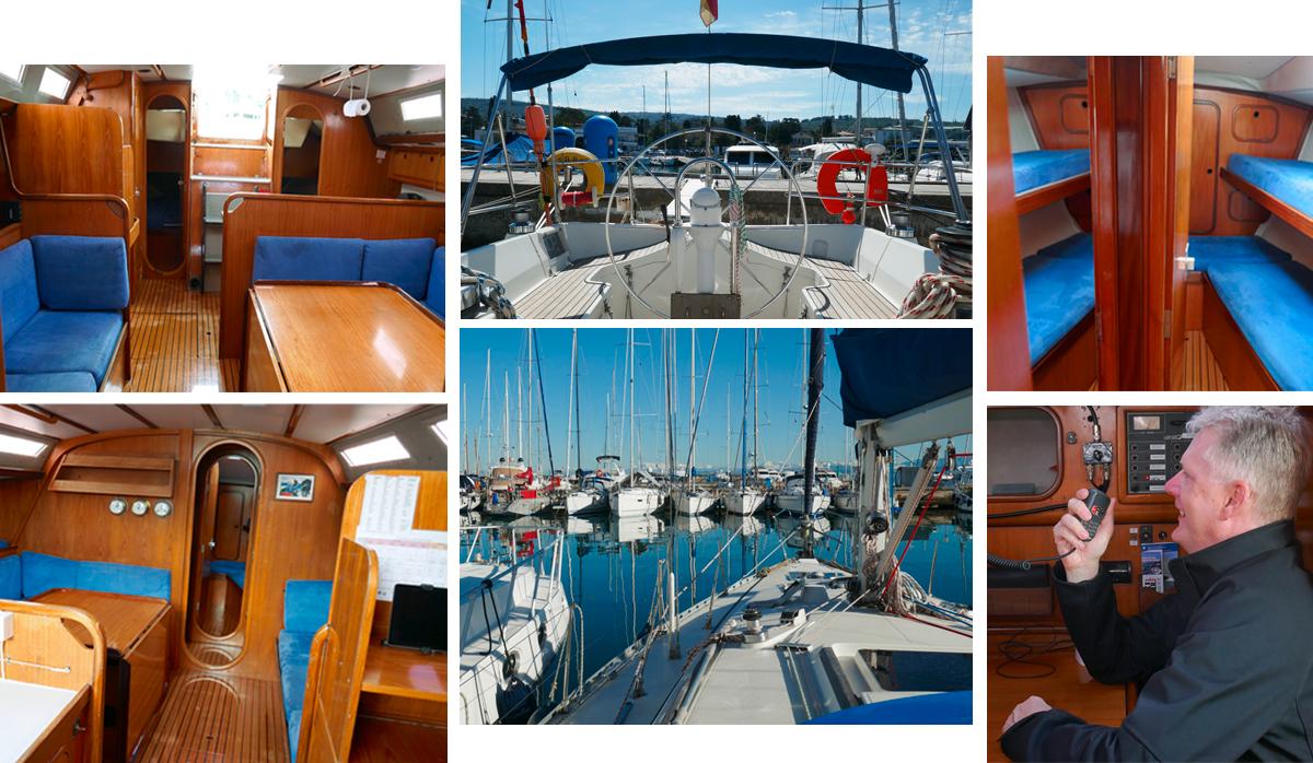 Segelyacht TARU Skippertraining